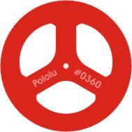 "2"" x 0.125"" GM6,7 Wheel Pair Red"