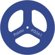 """2"""" x 0.125"""" GM6,7 Wheel Pair Blue"""