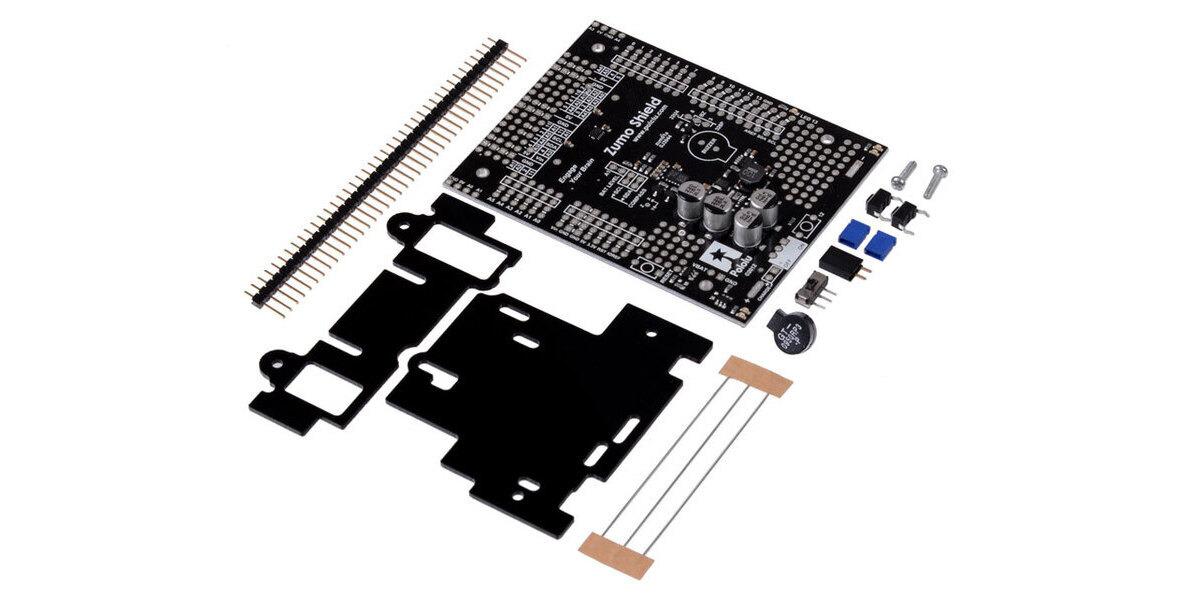 Pololu zumo shield for arduino