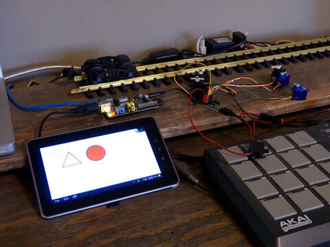 Raspberry Pi - Real Time Control via Android HTML5