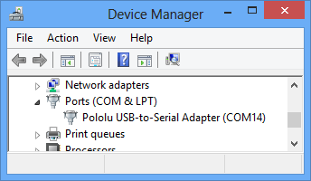 Pololu - CP2102 USB-to-Serial Bridge Driver Installation