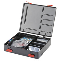 SparkFun Inventor's Kit for Arduino with retail storage case.