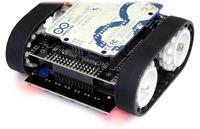 Zumo reflectance sensor array on a Zumo robot.