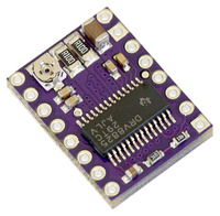 DRV8825 stepper motor driver carrier.