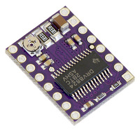 DRV8824 stepper motor driver carrier.