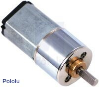 100:1 Mini Metal Gearmotor