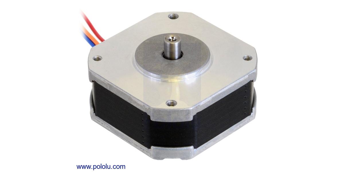 Pololu  Rev  42 U00d718 6mm  5 4v  1 A  Phase