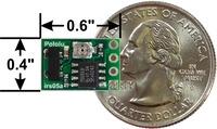 Pololu 38kHz IR proximity sensor with dimensions.