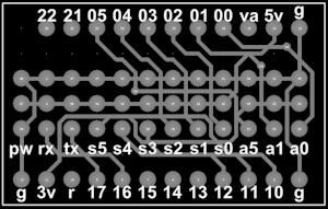 Wixel breakout board for servos