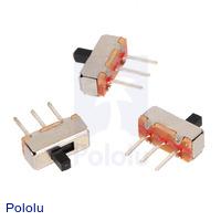 Mini Slide Switch: 3-Pin, SPDT, 0.3A (3-Pack)