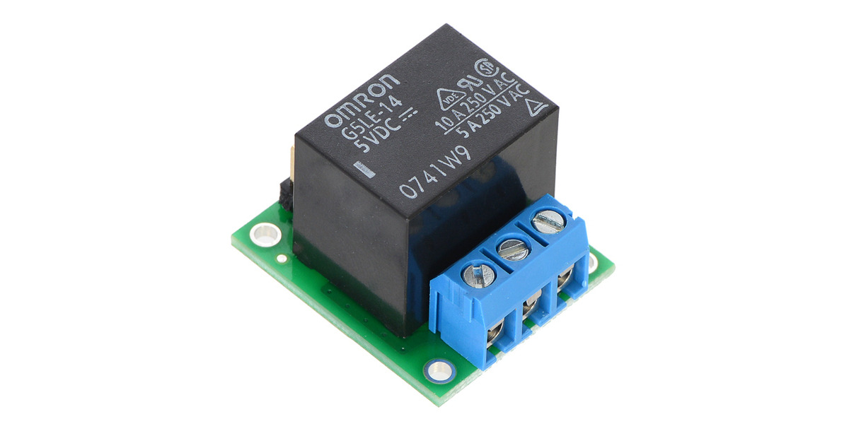 Peachy Pololu Basic Spdt Relay Carrier With 5Vdc Relay Assembled Wiring Database Indigelartorg