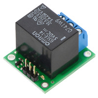 Pololu basic SPDT relay carrier with 5VDC relay (assembled).
