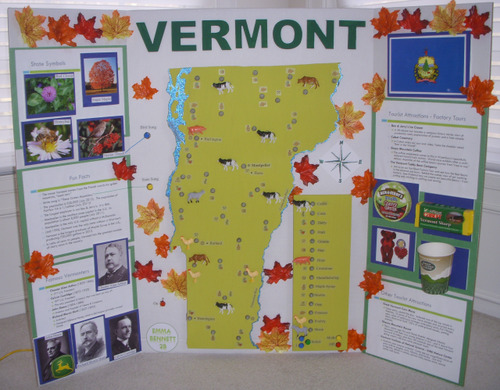 Raspberry Pi-based State Poster Project