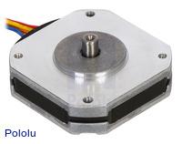Sanyo Pancake Stepper Motor: Bipolar, 200 Steps/Rev, 42×11.6mm, 3.5V, 1 A/Phase