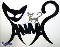 Laser cut decoration for Anna.