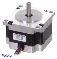 Stepper Motor: Unipolar/Bipolar, 200 Steps/Rev, 57×41mm, 5.7V, 1 A/Phase