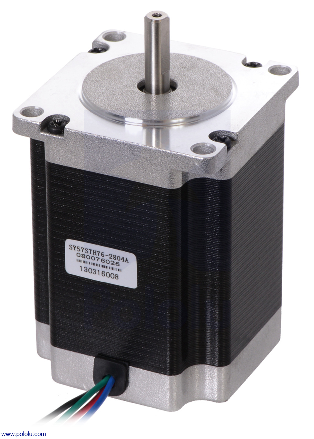 Pololu Stepper Motor Bipolar 200 Steps Rev 5776mm 32v 28 A Wiring Phase