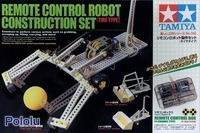 Tamiya 70162 Remote Control Construction Set (tire type) box.