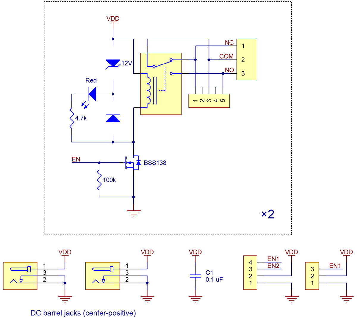 Pololu Basic 2 Channel Spdt Relay Carrier With 5vdc Relays Partial Kit Diagram Schematic