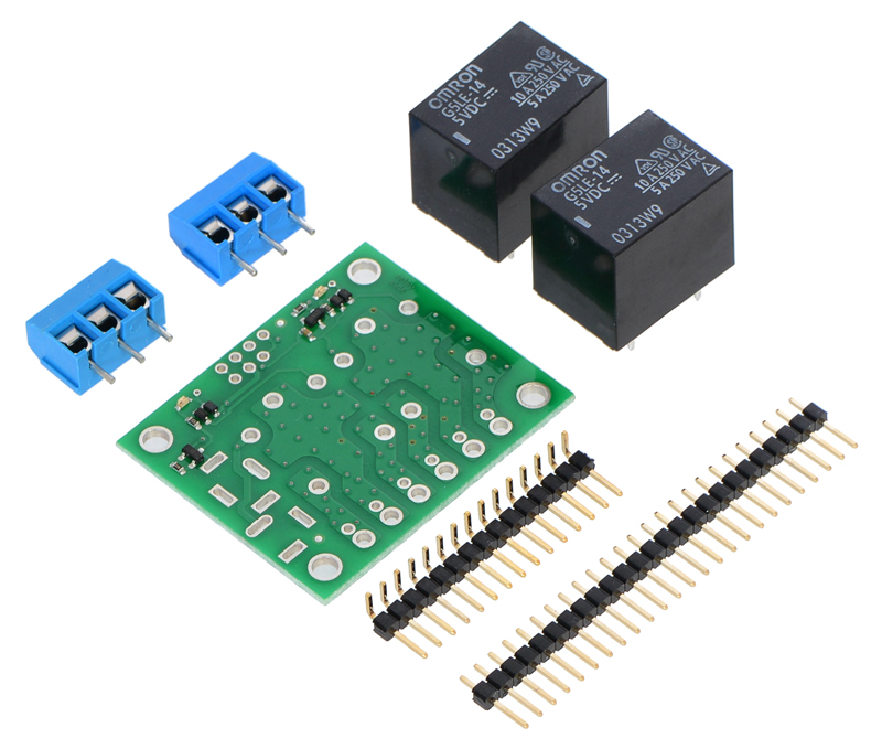 Miraculous Pololu Basic 2 Channel Spdt Relay Carrier With 5Vdc Relays Partial Kit Wiring Digital Resources Bemuashebarightsorg