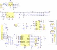 Orangutan SV-328 Robot Controller schematic diagram.