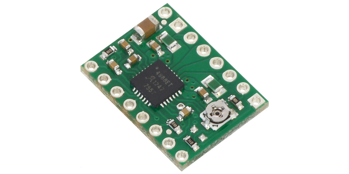 Pololu A4988 Stepper Motor Driver Carrier Bulk No
