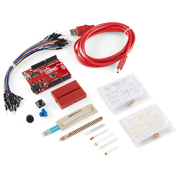 New product: Sparkfun Starter Kit for RedBoard