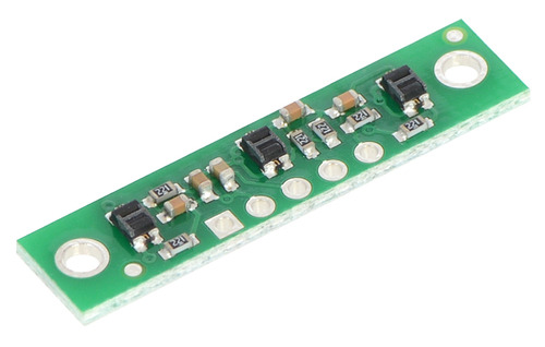 New products: QTR-3A and QTR-3RC Reflectance Sensor Arrays