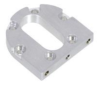 Pololu machined aluminum bracket for 37Dmm metal gearmotors.