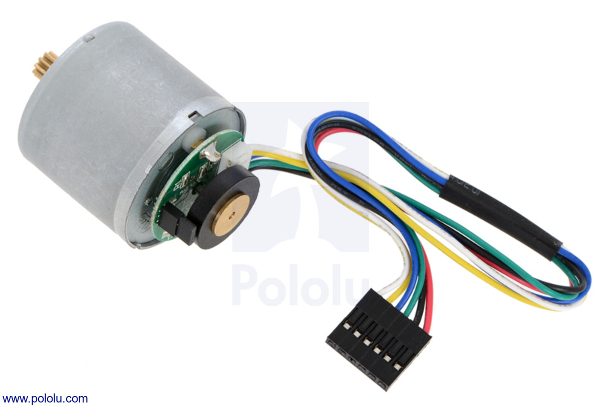 Pololu Motor With 64 Cpr Encoder For 37d Mm Metal
