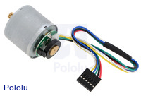 37D mm motor with 64 CPR encoder (no gearbox).