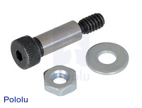 Shoulder Bolt with Flat Washer and Hex Nut