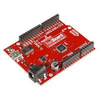 SparkFun RedBoard (an Arduino Uno R3 clone).