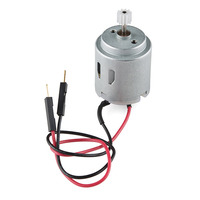 SparkFun Inventor's Kit motor with pinion gear.