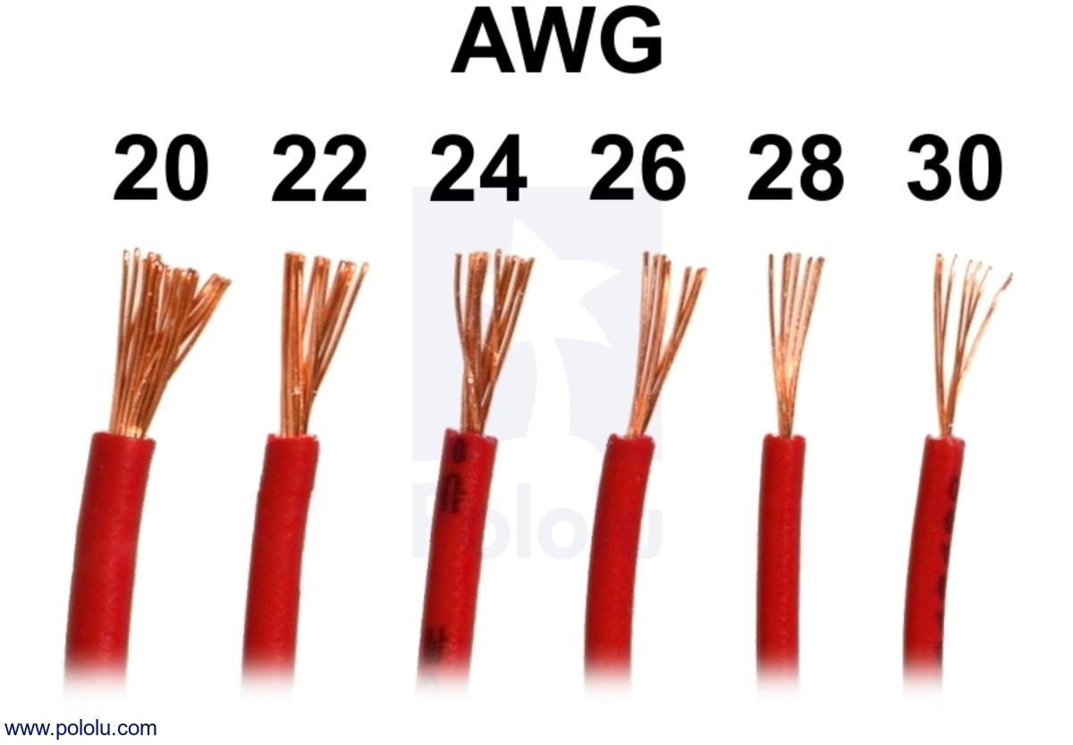 0 gauge wire diameter dolgular pololu stranded wire blue 22 awg 50 feet keyboard keysfo Choice Image