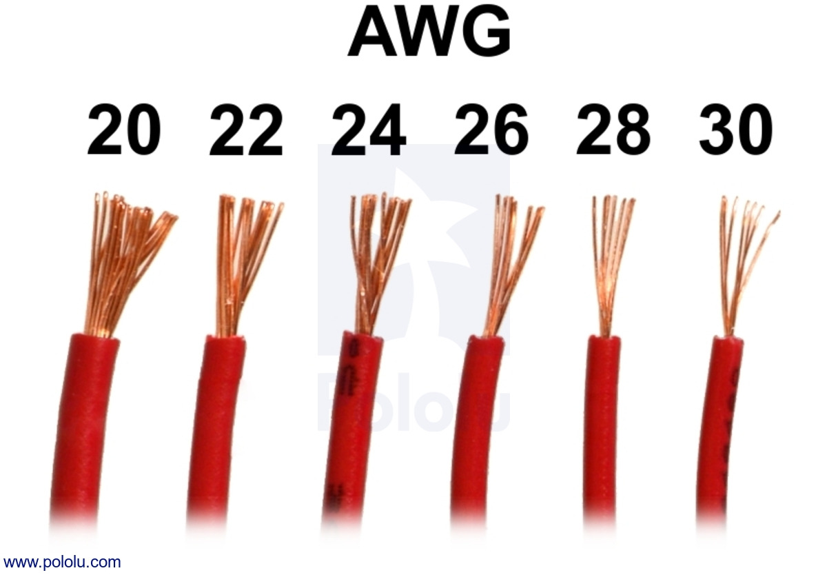 Awg wire diameter in mm data library pololu stranded wire yellow 26 awg 70 feet rh pololu com wire gauge diameter in mm 18 awg wire diameter in mm keyboard keysfo