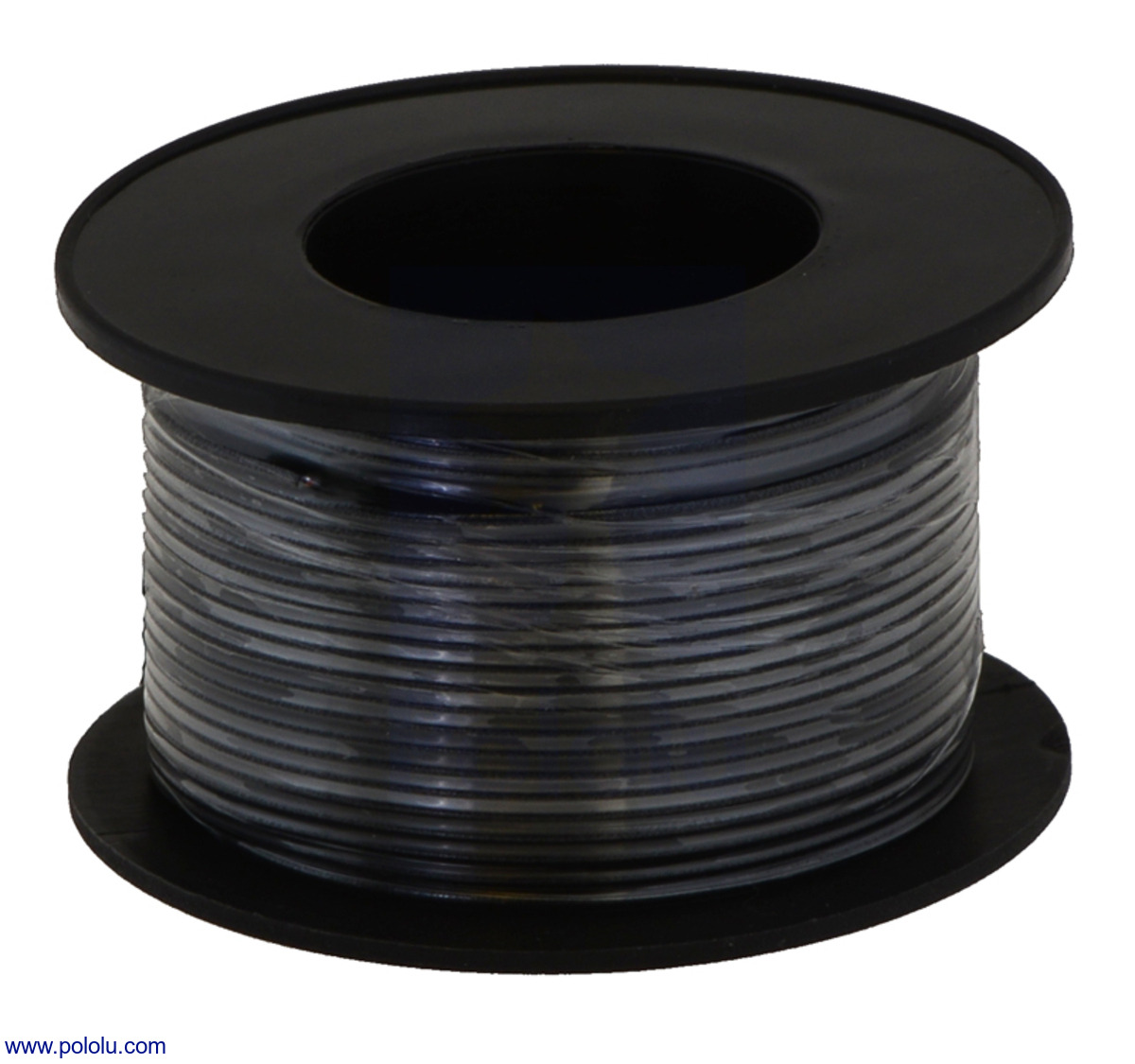 Pololu stranded wire black 20 awg 40 feet stranded wire black 20 awg 40 feet greentooth Choice Image