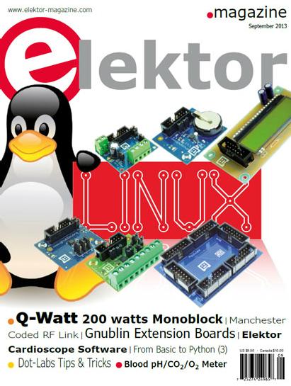 Free Elektor magazine September 2013