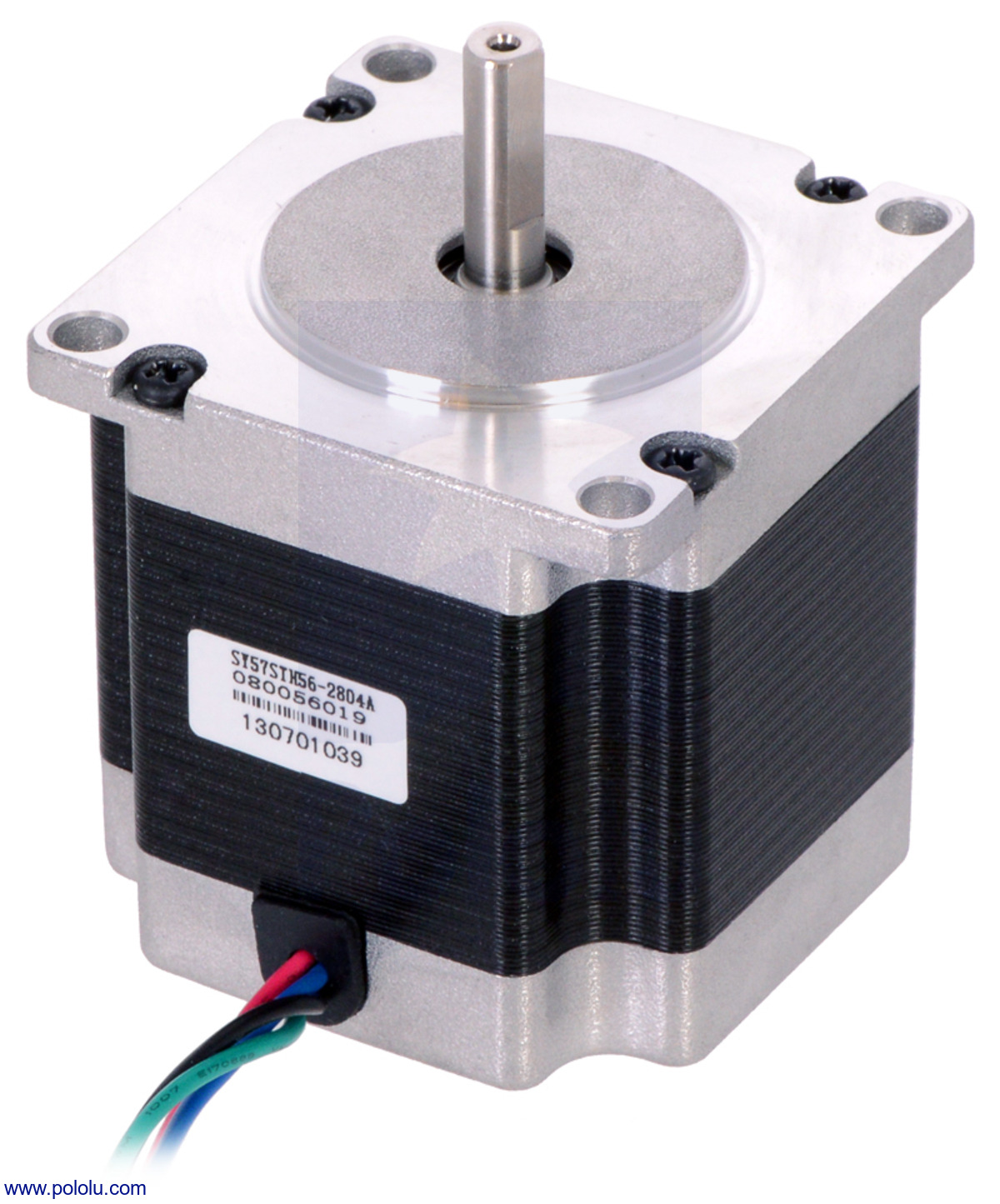 Pololu Stepper Motor Bipolar 200 Steps Rev 57 56mm 2
