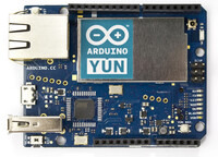 Arduino Yún, top view.