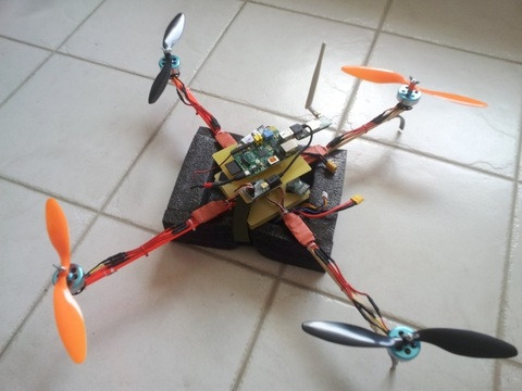 Using a Maestro to control a quadcopter