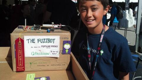 Qtechknow wins Educator's Choice award at Maker Faire