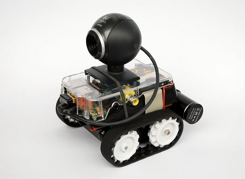 PiBot-B: mobile robot with a Raspberry Pi