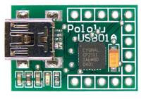 Pololu USB-to-Serial Adapter revision USB01A