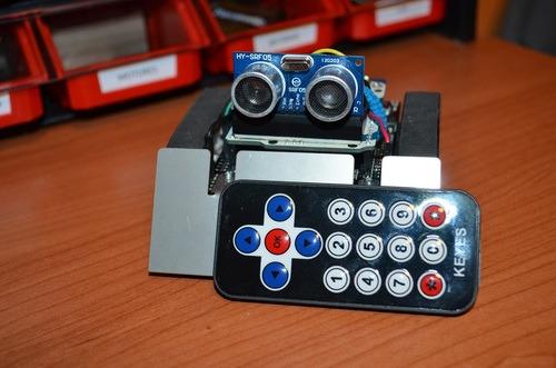 Remote-controlled Zumo Robot