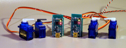 Wireless Servo Widget