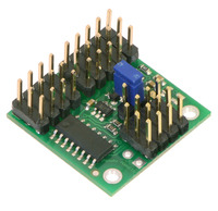 Pololu 4-Channel RC Servo Multiplexer (Assembled)
