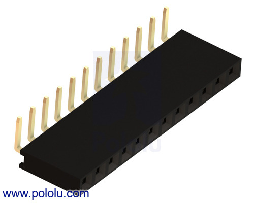 New products: right-angle female headers