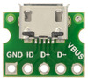 New products: USB Mini-B and Micro-B Connector Breakout Boards