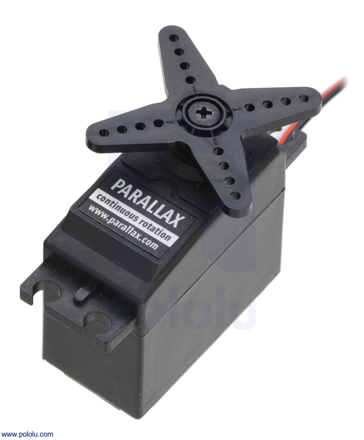 Pololu Parallax Futaba S148 Continuous Rotation Servo